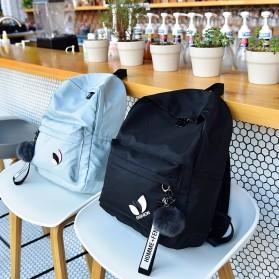 Tas Ransel Wanita Leaf Ribbon Backpack - 170129 - Black - 8