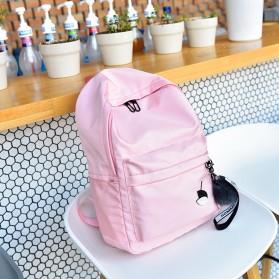 Tas Ransel Wanita Leaf Ribbon Backpack - 170129 - Black - 9