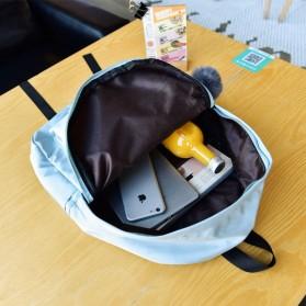 Tas Ransel Wanita Leaf Ribbon Backpack - 170129 - Black - 10