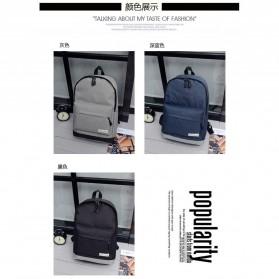 Tas Ransel Korean Style Backpack - K4214 - Black - 5