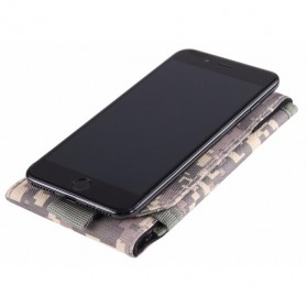 Tas Holster Tactical Outdoor Smartphone 6 Inch - BW2503458 - Black - 3