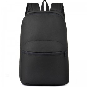 Tas Ransel Casual Simple Design - L19 - Black