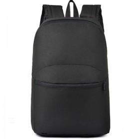 Tas Ransel Casual Simple Design - L19 - Black - 1