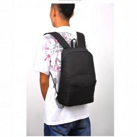 Tas Ransel Casual Simple Design - L19 - Black - 2