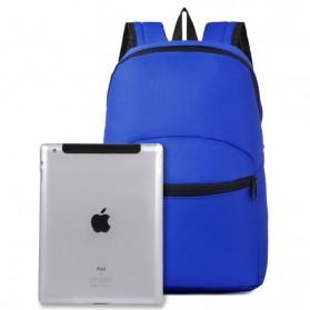 Tas Ransel Casual Simple Design - L19 - Black - 5