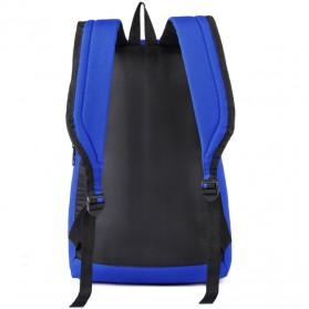 Tas Ransel Casual Simple Design - L19 - Black - 6