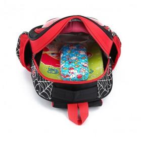 KAFVNIE Tas Ransel Sekolah Anak Backpack Model Spiderman - 1801 - Blue - 3
