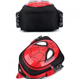 KAFVNIE Tas Ransel Sekolah Anak Backpack Model Spiderman - 1801 - Blue - 5