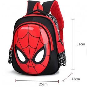 KAFVNIE Tas Ransel Sekolah Anak Backpack Model Spiderman - 1801 - Blue - 6