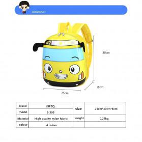 LXFZQ Tas Ransel Sekolah Anak Backpack Model Lebah - E-301 - Blue - 2