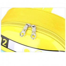 LXFZQ Tas Ransel Sekolah Anak Backpack Model Lebah - E-301 - Blue - 6