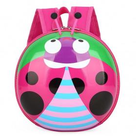 LXFZQ Tas Ransel Sekolah Anak Backpack Model LadyBug - E-302 - Pink