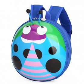 LXFZQ Tas Ransel Sekolah Anak Backpack Model LadyBug - E-302 - Blue