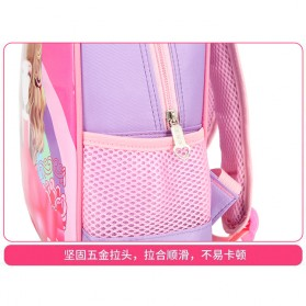 SUNEIGHT Tas Ransel Sekolah Anak Kartun Lucu Karakter Barbie - B304 - Pink - 2