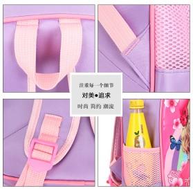 SUNEIGHT Tas Ransel Sekolah Anak Kartun Lucu Karakter Barbie - B304 - Pink - 3