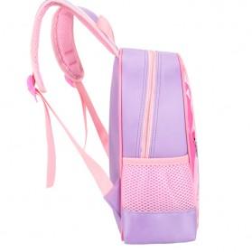 SUNEIGHT Tas Ransel Sekolah Anak Kartun Lucu Karakter Barbie - B304 - Pink - 6