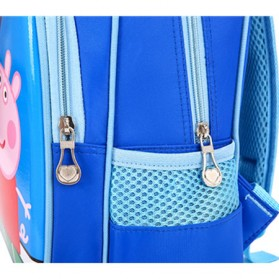 SUNEIGHT Tas Ransel Sekolah Anak Kartun Lucu Karakter Princess Disney - B500 - Purple/Pink - 3