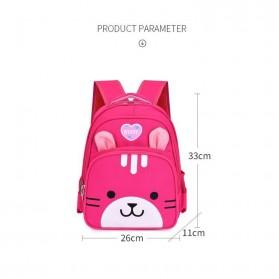 SUNEIGHT Tas Ransel Sekolah Anak Kartun Beruang Lucu 3D - AD8745 - Blue - 7