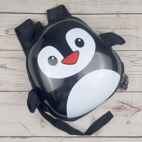 LXFZQ Tas Ransel Sekolah Anak Kartun Lucu Karakter Penguin - E-300 - Black