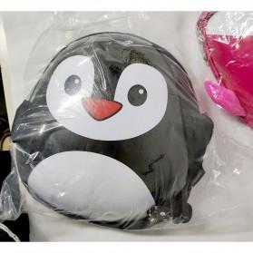 LXFZQ Tas Ransel Sekolah Anak Kartun Lucu Karakter Penguin - E-300 - Black - 8