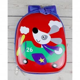SIDNEEY Tas Ransel Sekolah Anak Kartun - UNC1245 - Real Red