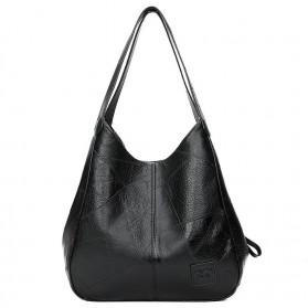 JINGPIN Tas Selempang Wanita Shoulder Bag - 9918 - Black