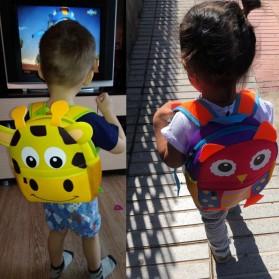 LXFZQ Tas Ransel Sekolah Anak Kartun Lucu - 803 - Yellow - 6