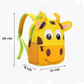 LXFZQ Tas Ransel Sekolah Anak Kartun Lucu - 803 - Yellow - 7
