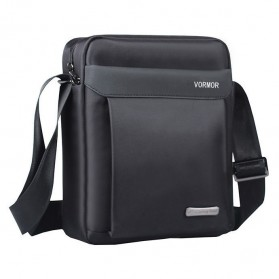 Vormor Tas Selempang Pria Oxford Cloth Shoulder Bag - D518-1 - Black - 1