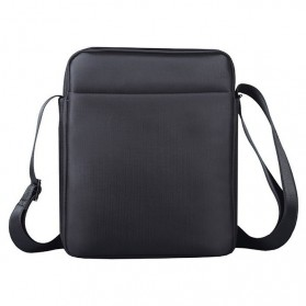 Vormor Tas Selempang Pria Oxford Cloth Shoulder Bag - D518-1 - Black - 2