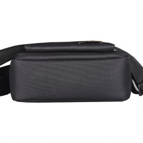 Vormor Tas Selempang Pria Oxford Cloth Shoulder Bag - D518-1 - Black - 3