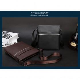 Vormor Tas Selempang Pria Vintage Shoulder Bag dengan Dompet - V77 - Black - 3