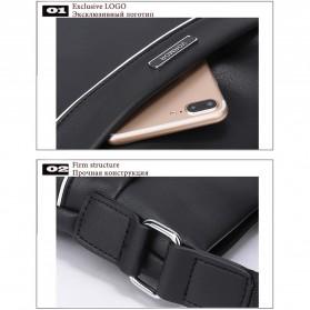 Vormor Tas Selempang Pria Vintage Shoulder Bag dengan Dompet - V77 - Black - 7