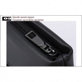 Vormor Tas Selempang Pria Vintage Shoulder Bag dengan Dompet - V77 - Black - 8