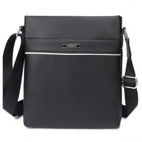 Vormor Tas Selempang Pria Vintage Shoulder Bag - V77 - Black - 1