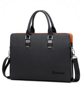 Rhodey Tas Selempang Tote Wanita Vintage Leather Shoulder Bag - HA-047-E - Black