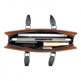 Rhodey Tas Selempang Tote Wanita Vintage Leather Shoulder Bag - HA-047-E - Black - 6