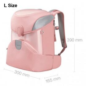 Xiaomi Mitu Kids Backpack 2 Tas Ransel Sekolah Anak Portable Size L - Pink