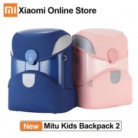 Xiaomi Mitu Kids Backpack 2 Tas Ransel Sekolah Anak Portable Size L - Pink - 3