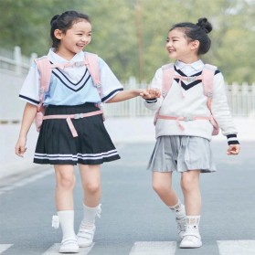 Xiaomi Mitu Kids Backpack 2 Tas Ransel Sekolah Anak Portable Size L - Pink - 7