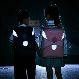 Xiaomi Mitu Kids Backpack 2 Tas Ransel Sekolah Anak Portable Size L - Pink - 8