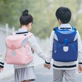 Xiaomi Mitu Kids Backpack 2 Tas Ransel Sekolah Anak Portable Size L - Blue - 6