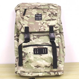 Tas Ransel Laptop / Backpack Notebook - Anello Sun Earth & U Tas Ransel Roll Top - Camouflage