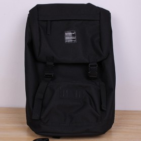 Tas Ransel Laptop / Backpack Notebook - Anello Sun Earth & U Tas Ransel Roll Top - Black