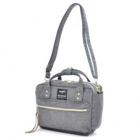 Anello Tas Selempang Square Mini Boston 2 Way - Gray