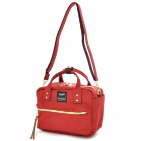 Anello Tas Selempang Square Mini Boston 2 Way - Red