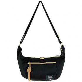 Anello Tas Sling Bag Banana Size S - Black