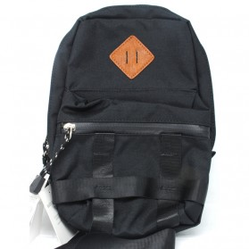 Tas Ransel Laptop / Backpack Notebook - Anello Sun Earth & U Tas Selempang Sling Bag - Black