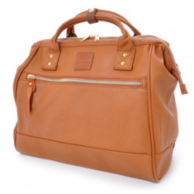 Anello Tas Selempang Kulit Boston 2 Way - Brown