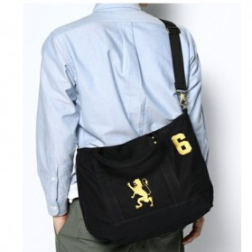 Anello Giordano Tas Selempang Pria Messenger Bag - Black